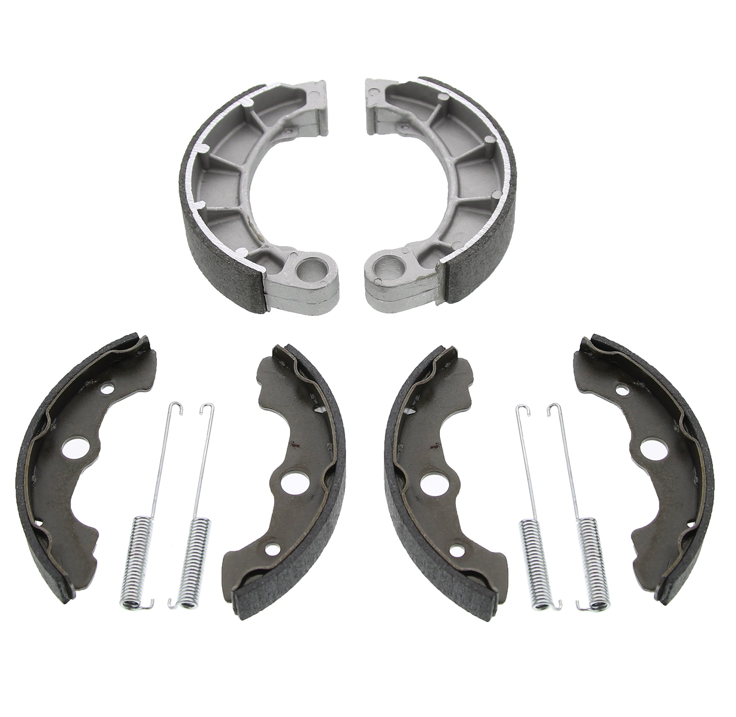 2004 Fits Honda Rancher 350 TRX350TE 2x4 ES TRX350 Front and Rear Brake Shoes by Race-Driven