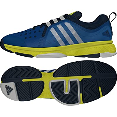 be1de31fd adidas Perfomance Men s Barricade Classic Bounce Sneakers Blue ...