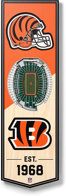 NFL Dallas Cowboys - AT&T Stadium 3D Banner, Team Colors, 6