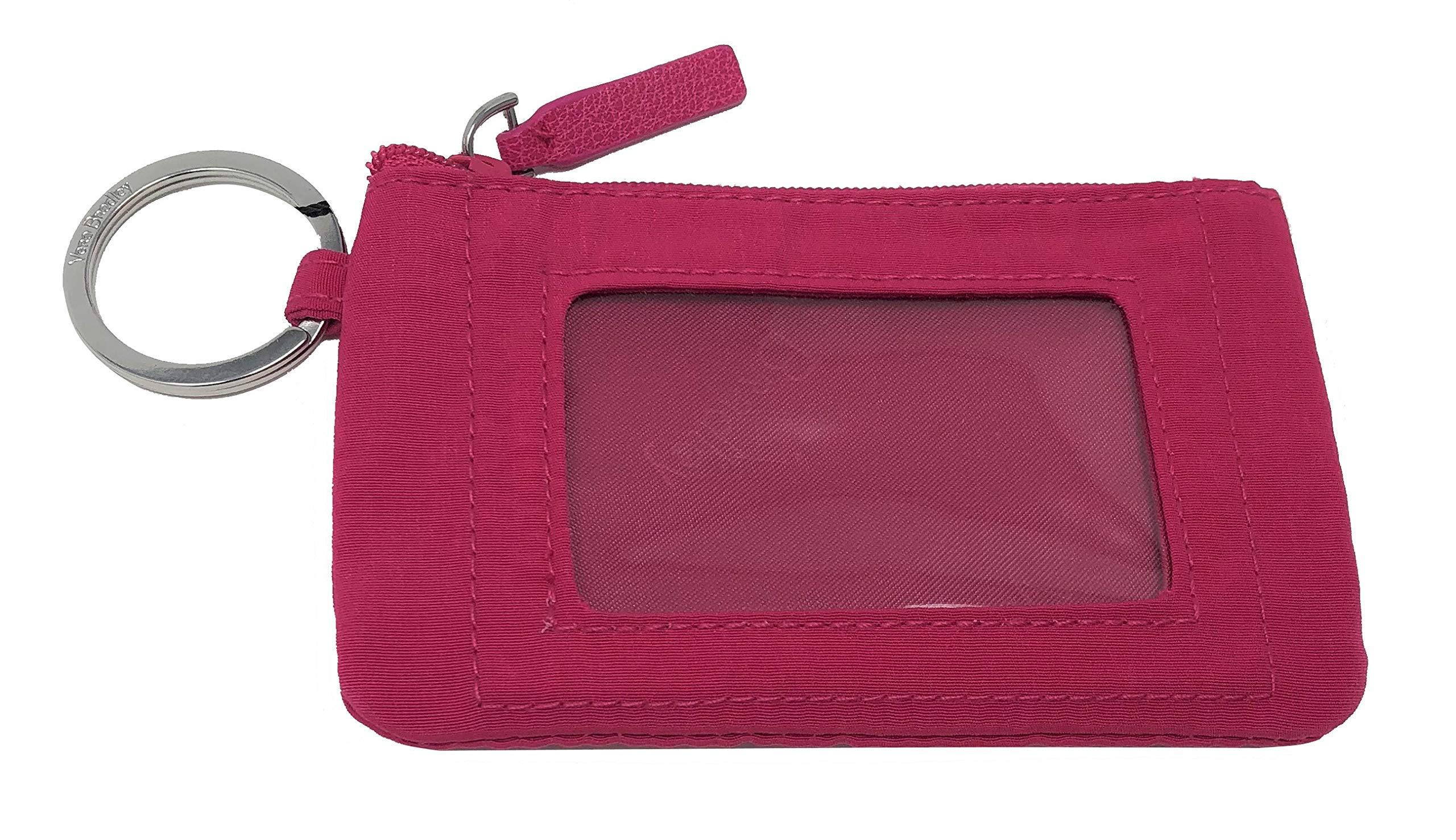 Vera Bradley Women's Zip ID Case in Fuchsia