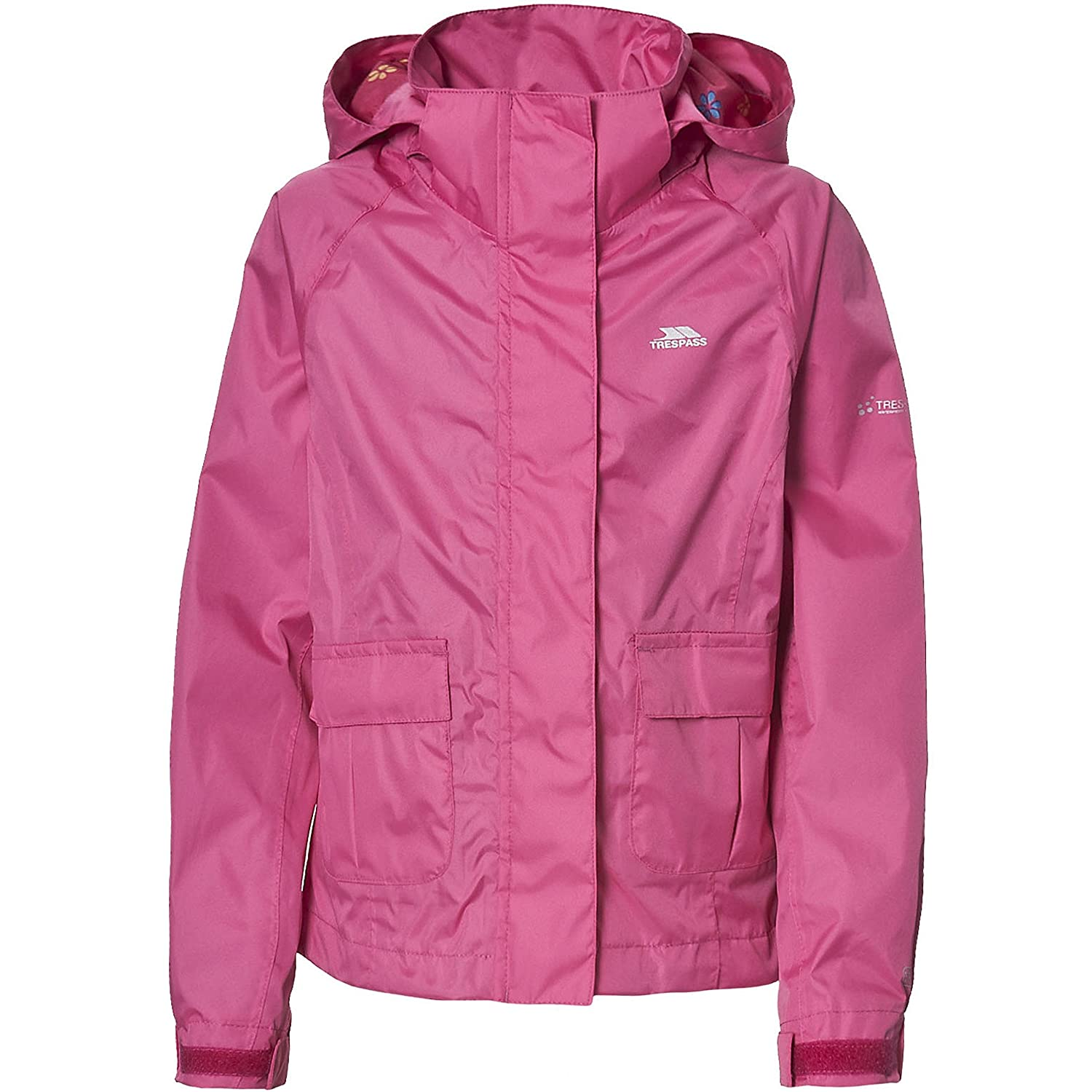 Trespass Childrens Girls Twister Zip Up Waterproof Jacket UTTP2017_6