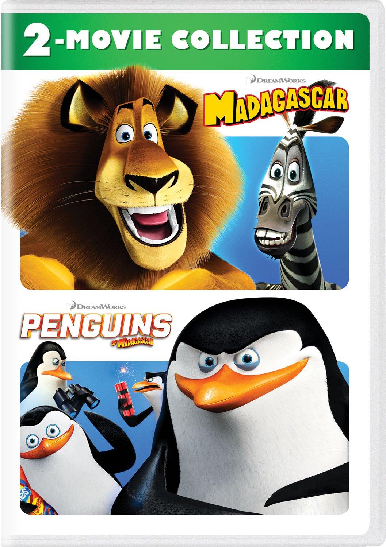 Amazon com: Madagascar / Penguins of Madagascar: 2-Movie