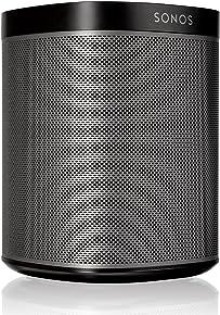 Original Sonos Play:1 - Compact Wireless Speaker for streaming music, Metallic black, Works with Alexa