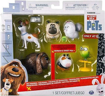 Amazon.com: The Secret Life of Pets - Mini Pets Collectible ...