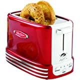 Nostalgia New and Improved Wide 2-Slice Toaster, Perfect For Bread, English Muffins, Bagels, 5 Browning Levels, With…