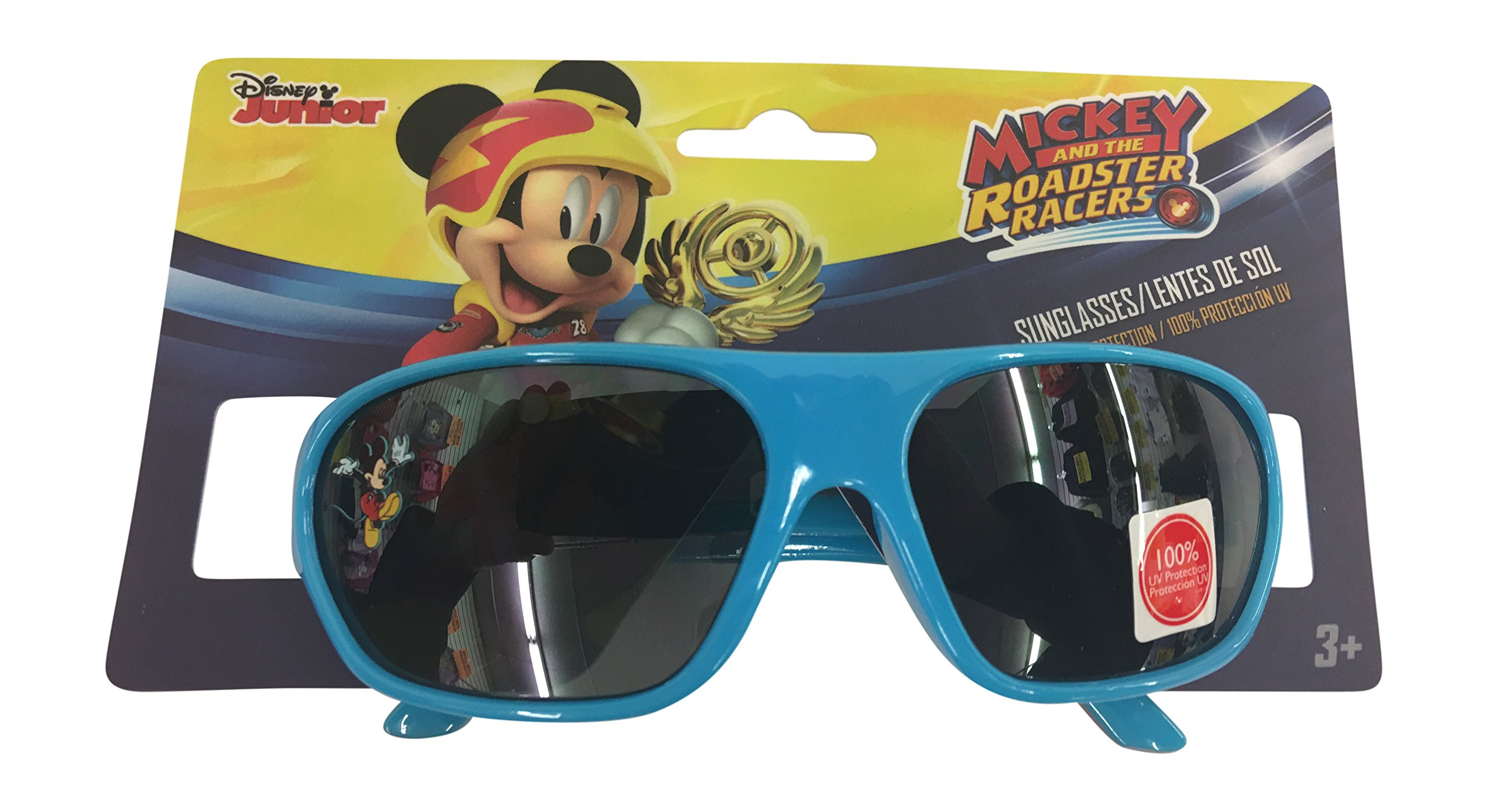 Disney Mickey Mouse ROADSTER RACERS Sunglasses - 100% UVA & UVB Protection