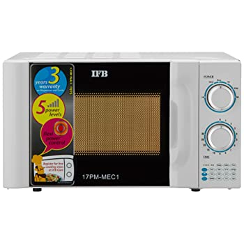 IFB 17 L Solo Microwave Oven (17PMMEC1, White)