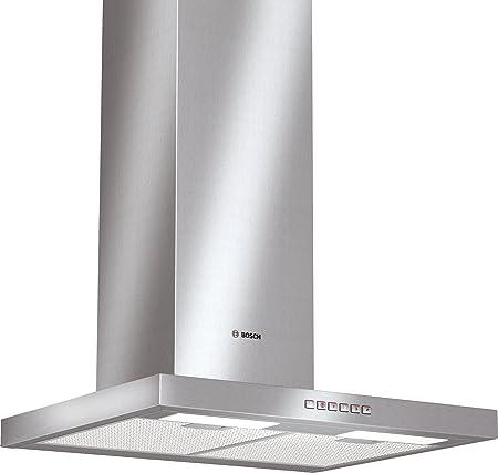 Bosch DWB063651 - Campana (Canalizado/Recirculación, 640 m³/h, 71 Db, Montado en pared, Halógeno, Plata): Amazon.es: Hogar