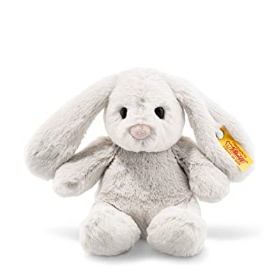 Steiff 80463 Rabbit, Light Grey, 18: Toys & Games