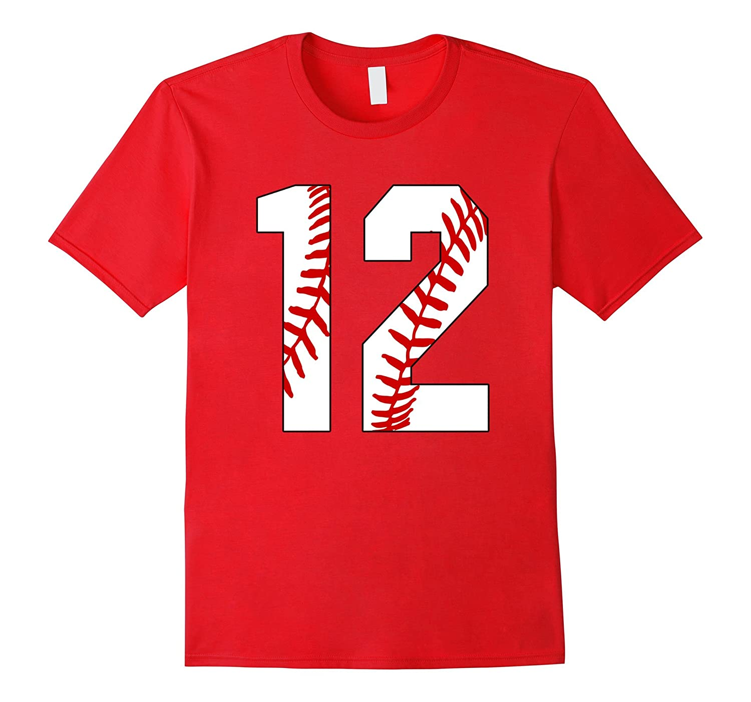 #12 Baseball Laces Baseball Mom Jersey Love Baseball T-shirt-TH