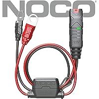 NOCO Genius Conector de Abrazaderas con batería, Indicador de batería, Negro, Mediano