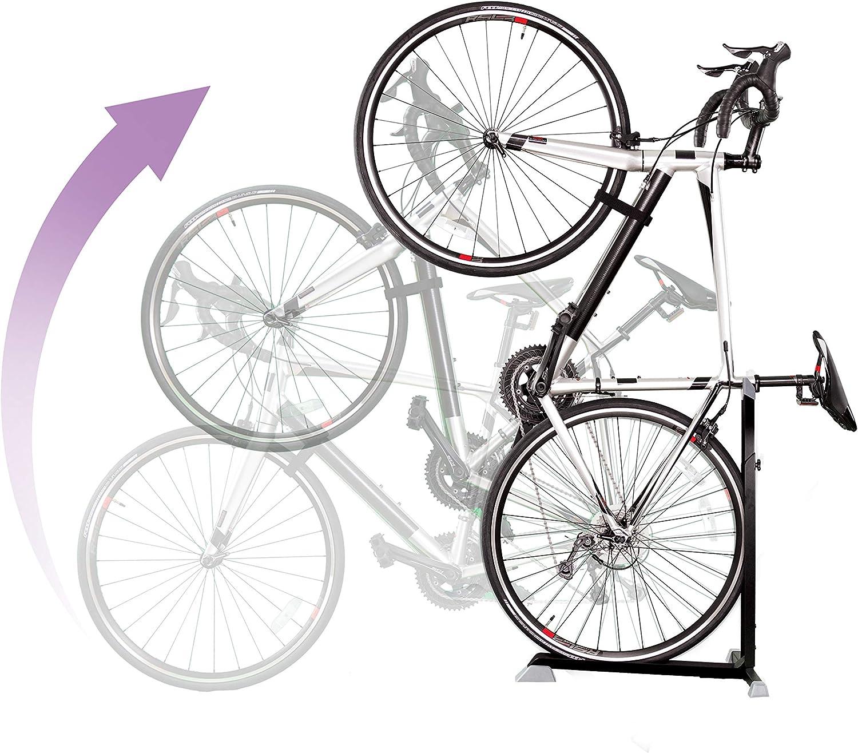 Soporte Bike Nook portátil para guardar bicicletas en interior. Rack estático de altura ajustable para ahorrar espacio: Amazon.es: Bricolaje y herramientas