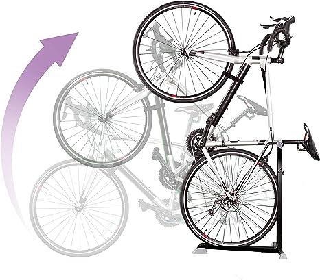 Bike Stands for Maintenance Vertical Bike Wall Mounts Lockable,Rack Bike Wall Hanger,Bike Storage Clip,Bicycle Parking Buckle,