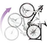 Bike Nook Bicycle Stand The Easy to Use Upright Design Lets You Store Your Bike Instantly in A Space Saving Handstand…