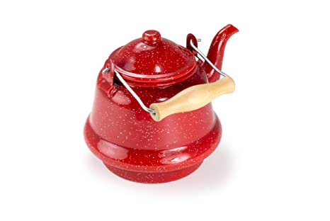 Amazon.com: GSI Outdoors Small Tea Kettle, Red: Sports & Outdoors