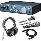Presonus AudioBox iTwo USB 2.0/iPad Recording System with Studio Headphones & XLR Cable