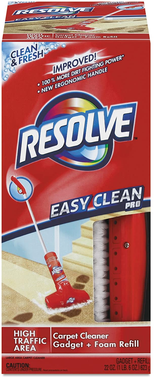 amazon com resolve easy clean carpet cleaning system with brush
