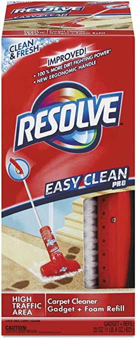 Amazon resolve easy clean carpet cleaning system with brush resolve easy clean carpet cleaning system with brush 1 sciox Gallery