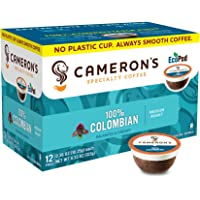 Cameron's Coffee Single Serve Pods, 100% Colombian, 12 Count (Pack of 6)