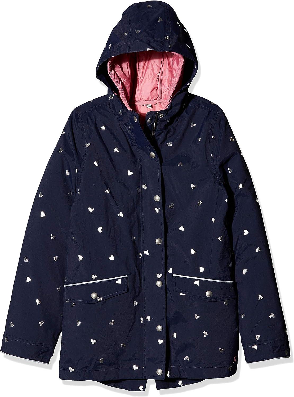 Joules Girls Parka Coat