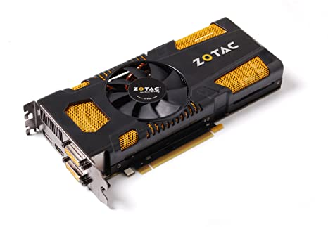 Zotac GeForce GTX 570 - Tarjeta gráfica NVIDIA con CUDA (PCI-e, Memoria de 1,28 GB GDDR5, DVI, HDMI, 1 GPU)