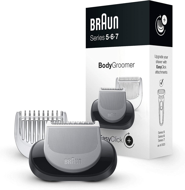 Braun EasyClick Accesorio de depiladora Corporal para Afeitadora Eléctrica Hombre Series 5, 6 y 7