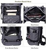 WITZMAN Travel Backpack Water Resistant Nylon