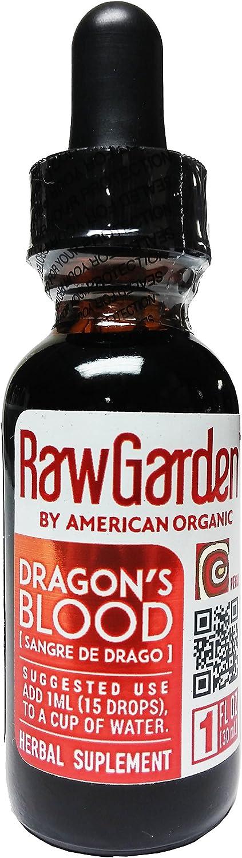 Raw Garden Dragon's Blood Original,100% Peruvian 1 Oz Concentrate, Sangre De Drago, Sangre De Grado.