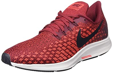 best website c2169 19553 Nike Air Zoom Pegasus 35, Chaussures de Running Compétition Homme,  Multicolore (Team Red