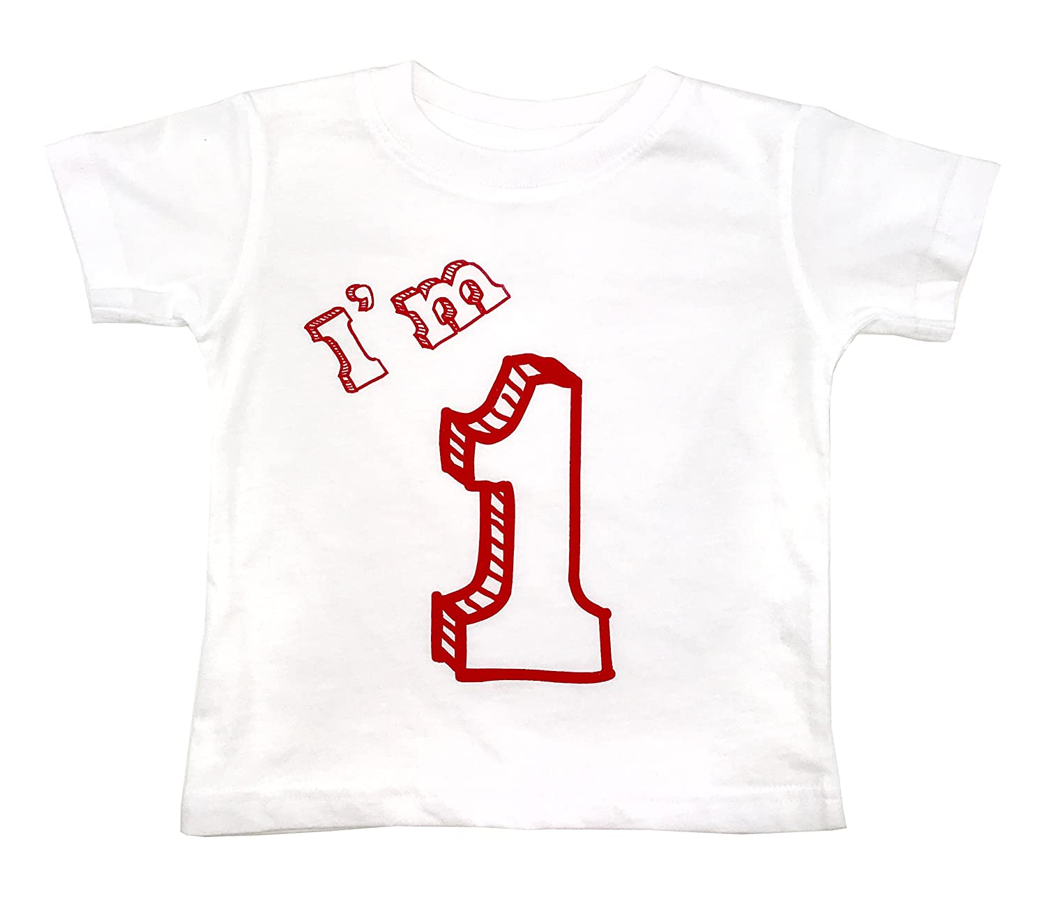 how-z-it I'm 1 T-Shirt - One Year Old Birthday Party