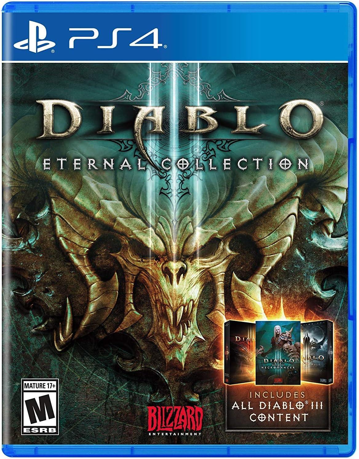 Amazon com: Diablo III Eternal Collection - PlayStation 4