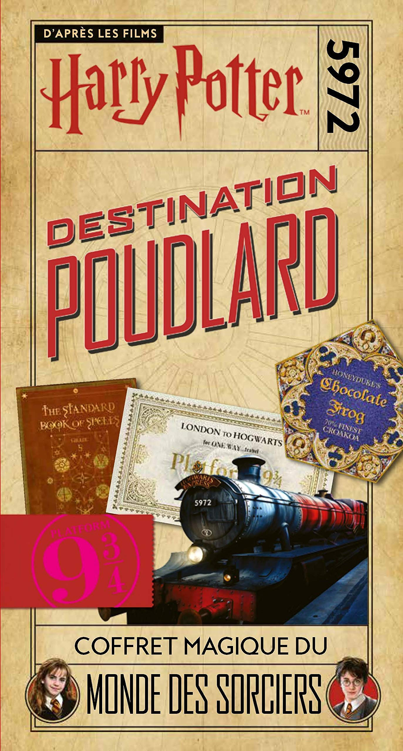 Harry Potter - Destination Poudlard de Collectif