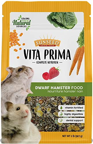 Sunseed Vita Prima Complete Nutrition Dwarf Hamster Food