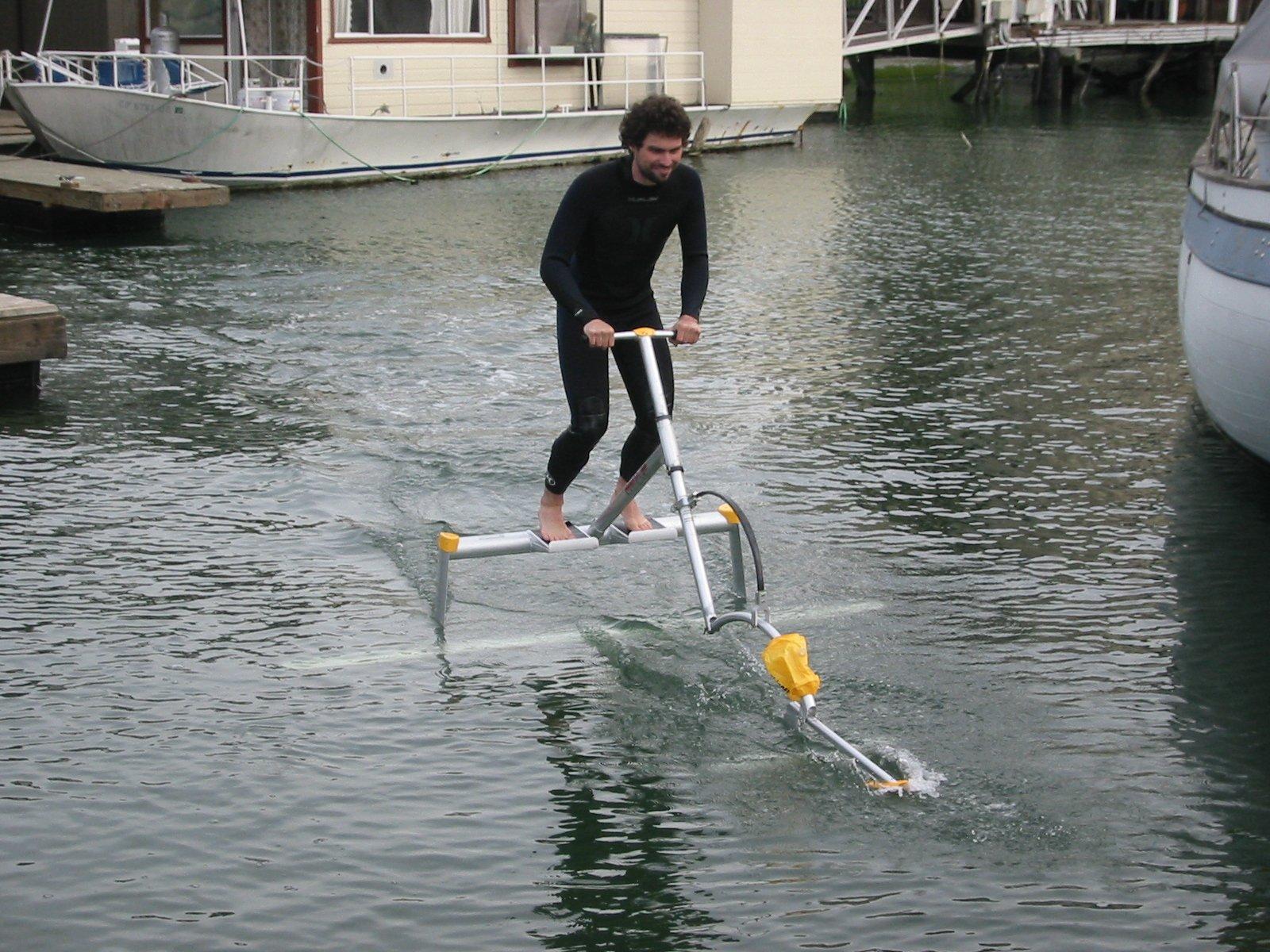 Waterskipper waterbird aquabike sea Scooter