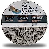 Bergan Turbo Scratcher Replacement Pads, 2 Pack