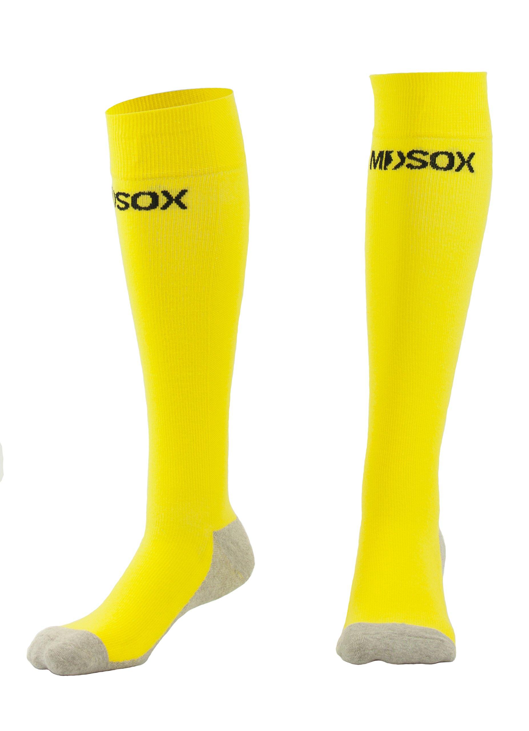 fb78e91807 Graduated Compression Socks for Men & Women MDSOX 20-30 mmHg (Yellow, XXL