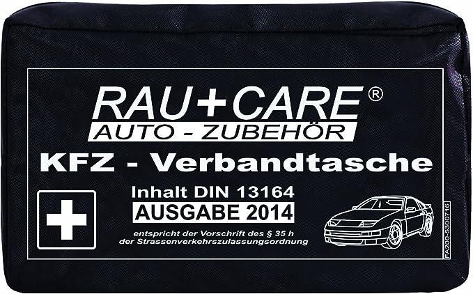 Rfx Care Eh0002 Kfz Verbandtasche Schwarz Inhalt Nach Din 13164 35h Stvzo Auto
