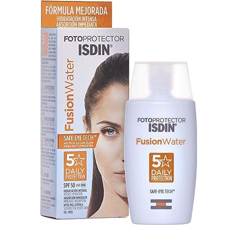 FotoUltra 100 ISDIN Active Unify SPF 50+ - Protector solar facial, Aclara y unifica el tono de piel, 50 ml: Amazon.es