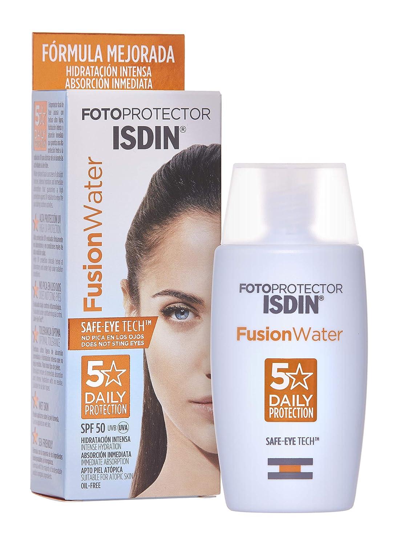 Fotoprotector ISDIN Fusion Water SPF 50 - Protector solar facial ...