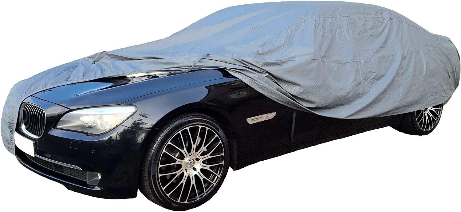 Rhinos-Autostyling For Peugeot 308 MK1 2007-2013 Full Car Cover Waterproof Summer Winter Cotton Lined Heavy Duty Indoor Outdoor