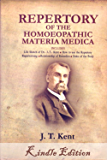 Repertory of the Homoeopathic (Homeopathic) Materia Medica by KENT (Lectures on Homeopathic)