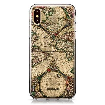 coque iphone xs carte du monde