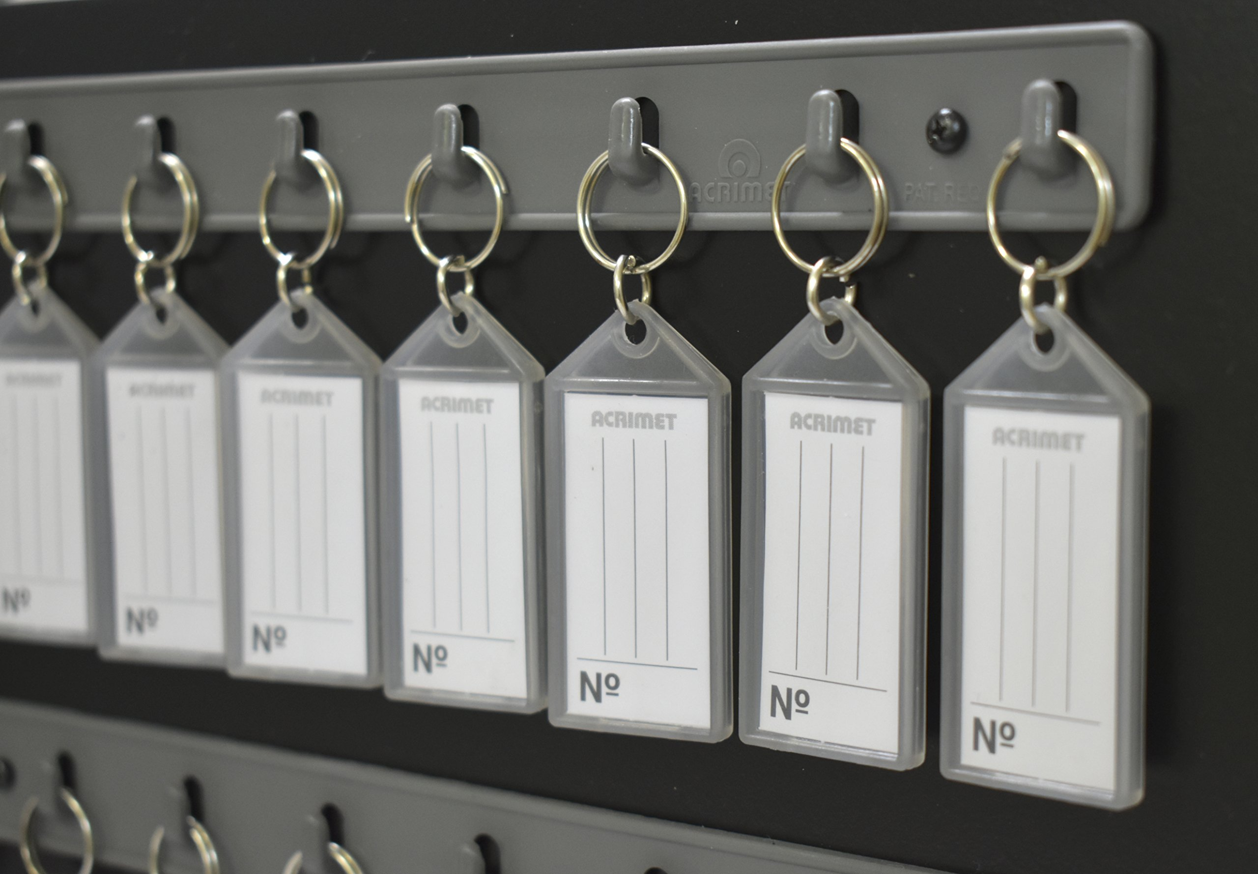 Acrimet Key Cabinet 128 Positions with 128 Key Tags (Black Color) by Acrimet (Image #4)