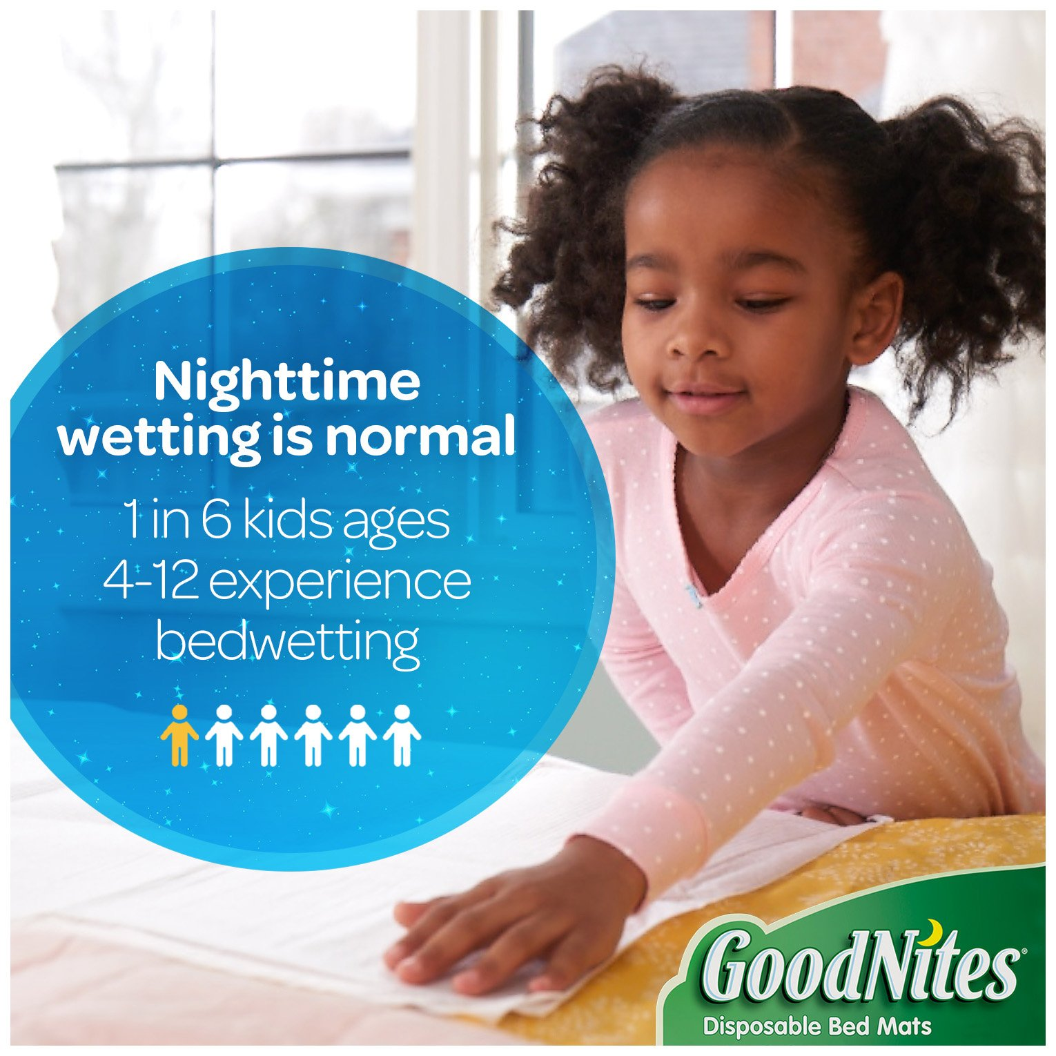 GoodNites Disposable Bed Mats, 36 Count by GoodNites (Image #5)