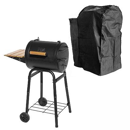 BBQ de scout ks0416 Grill n Smoke Patio Classic – Barbacoa + Protectora