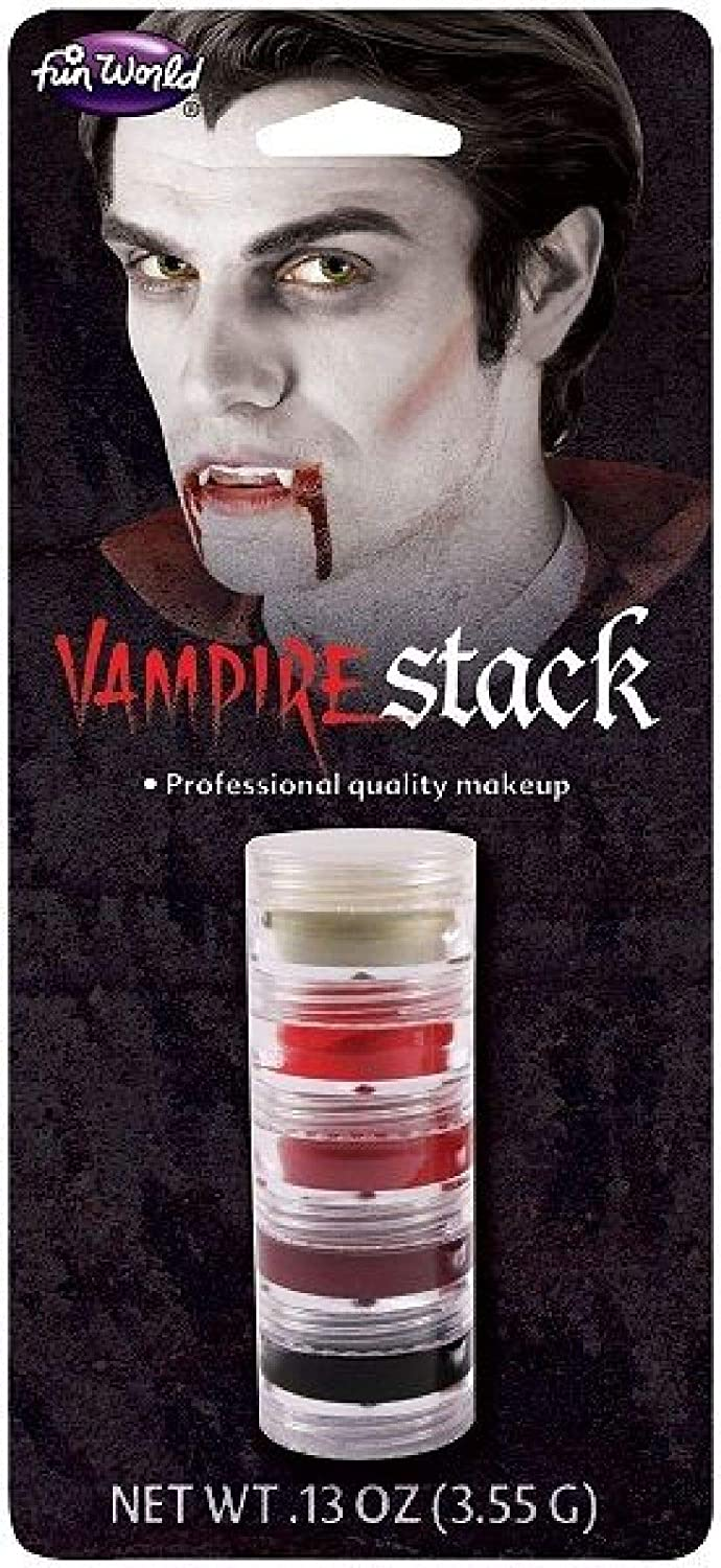 Monster Makeup Stacks Injury Vampire Zombie Halloween Horror