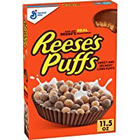 Deals on Reeses Puffs Cereal Chocolate Peanut Butter 11.5oz