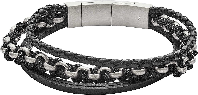 Fossil Homme Non m/étallique Bracelets multi-rangs JF02937040