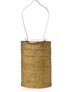 Elegant Allsop Home And Garden Soji Stella LED Outdoor Solar Lantern, Handmade With  Weather Resistant