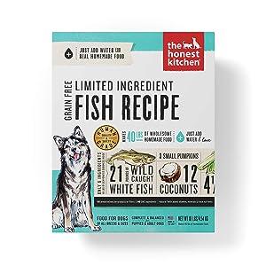 Honest Kitchen Limited Ingredient Dog Food - Fish Recipe
